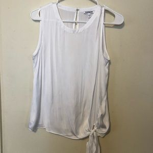 NWOT Express White Satin Tank